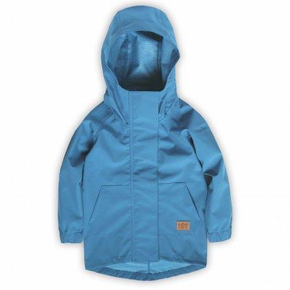 dětská softshellová bunda modrá 3