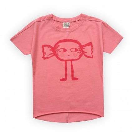 dívčí triko růžová 1