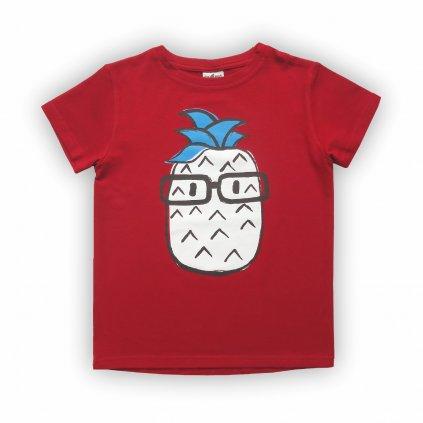 dětské triko červená 1