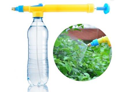 Postřikovač rostlin ruční tlakový na PET láhev GT27013