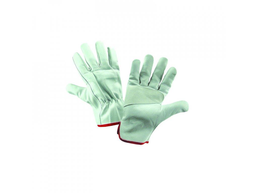 kožená pracovní rukavice 8