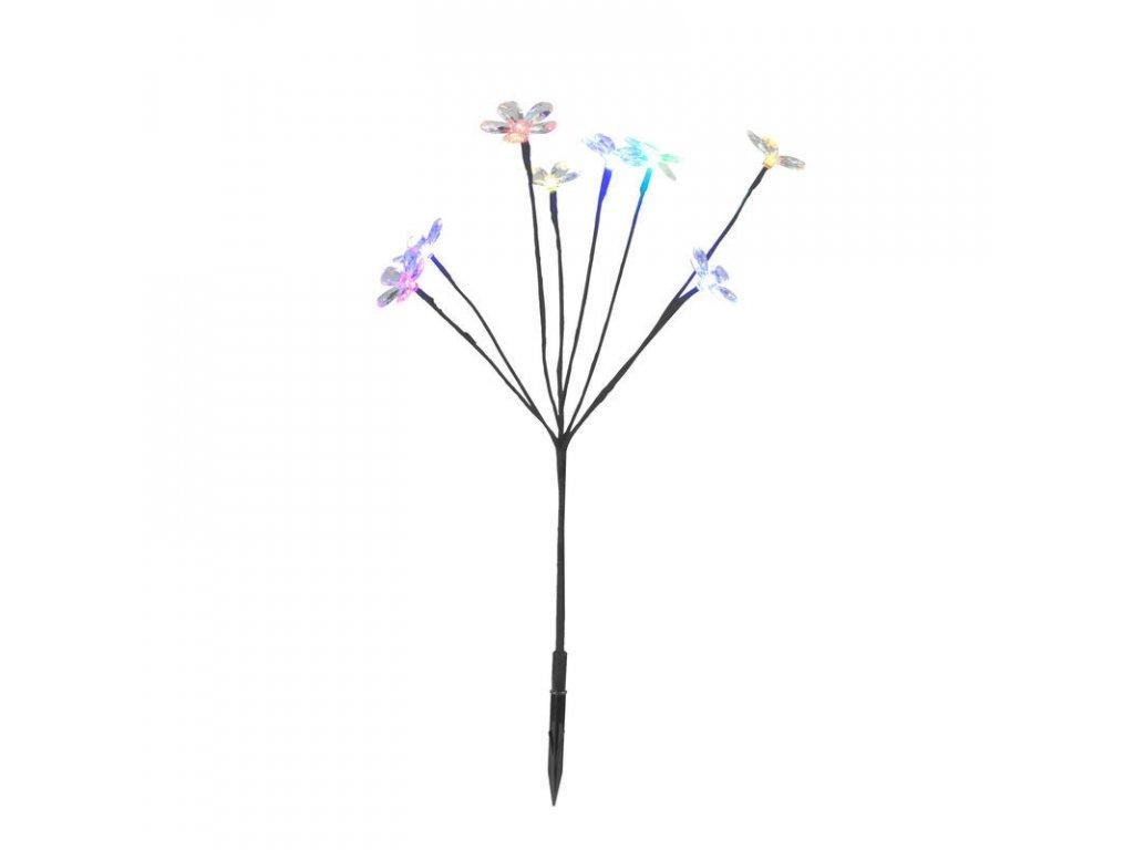 Záhradné LED solárne kvetinový ker