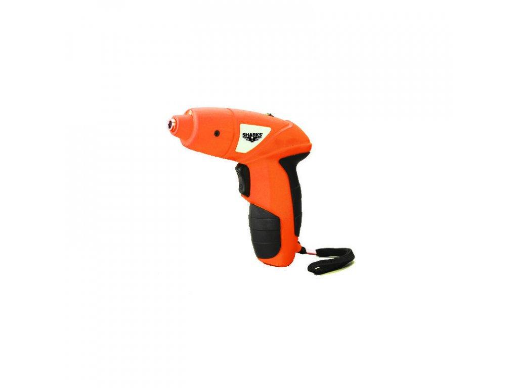 Akumulátorový skrutkovač Sharks SH 4,8V