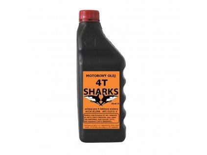 Sharks 4T - štvortaktný olej
