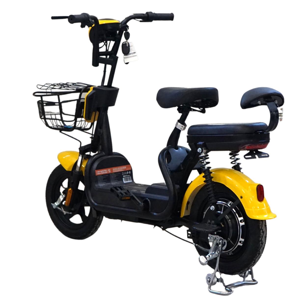 Elektrický skúter bez vodičáku Sharks RS-01, žltý