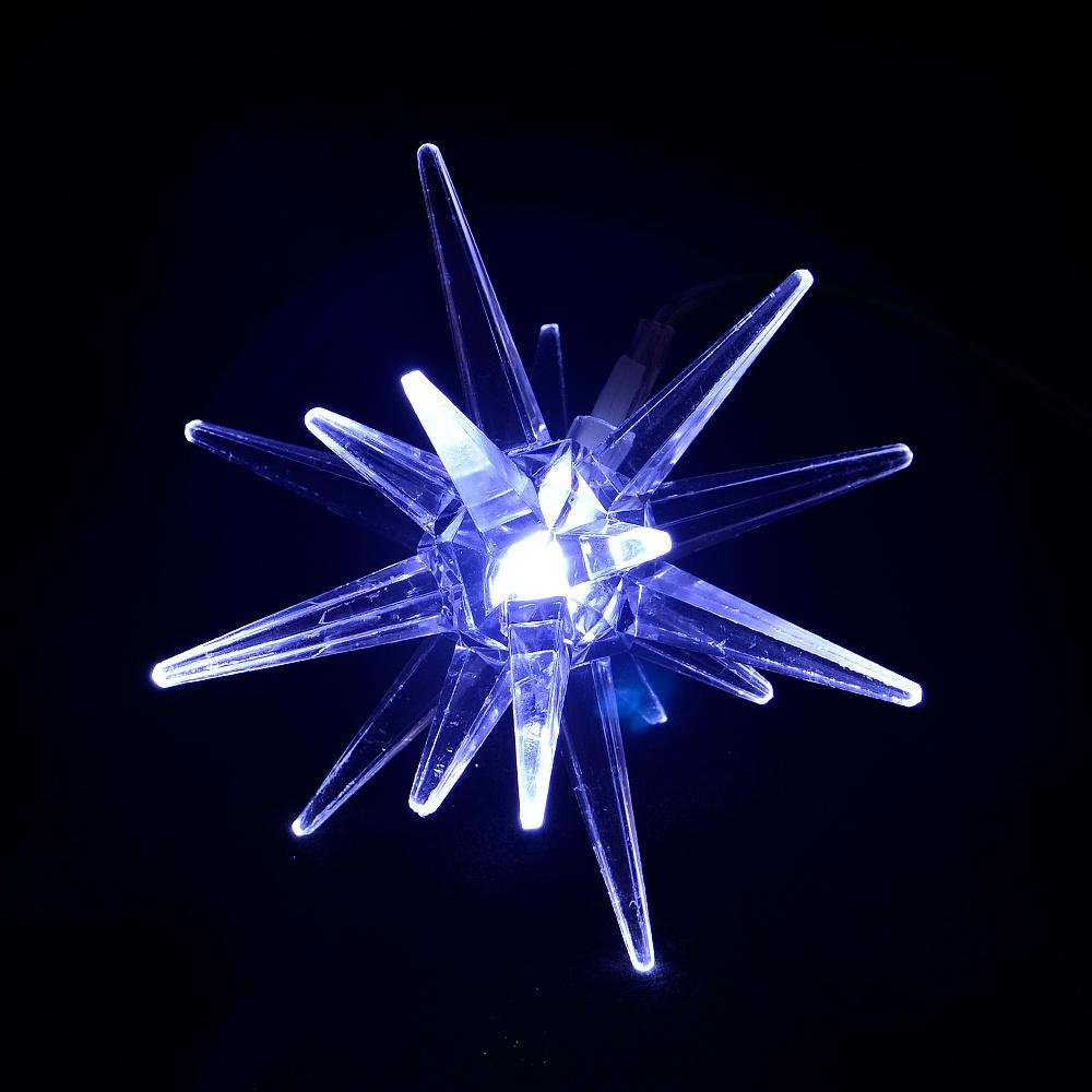 Solárne vianočné osvetlenie - Závesná hviezda