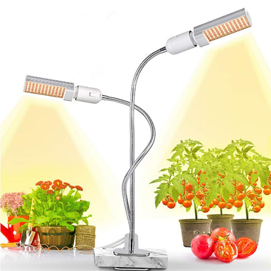 Domáca záhradka LED osvetlenie s klipsňou a časovačom 45W