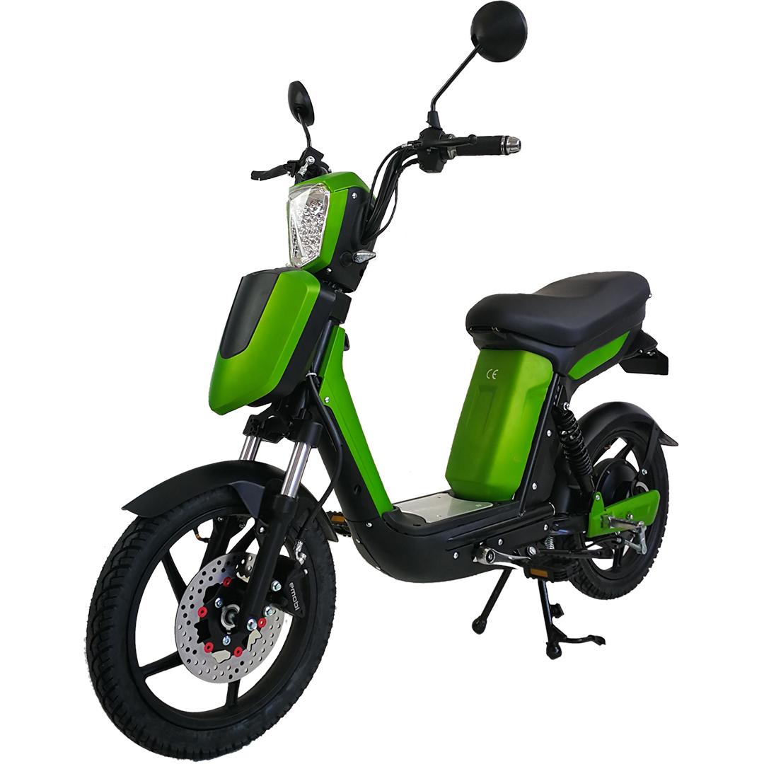 Elektrický skúter bez vodičáku Sharks K2 20 Ah Li-ion, zelená