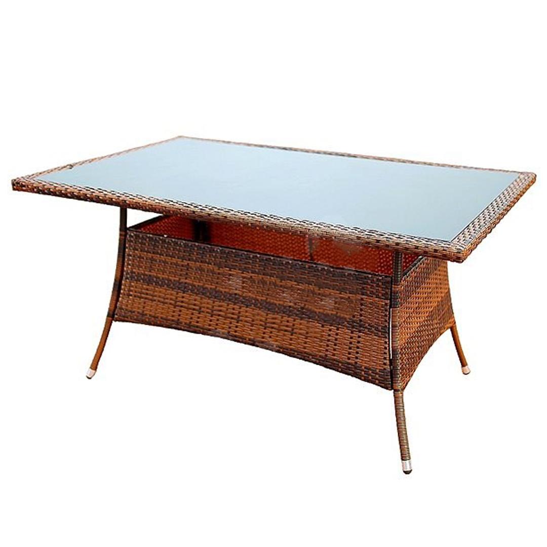Ratanový stôl Ebro