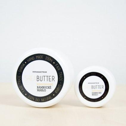 Bambucke maslo set