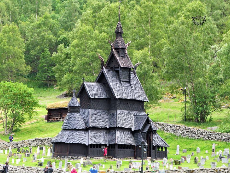 Borgund stavkirke Norsko