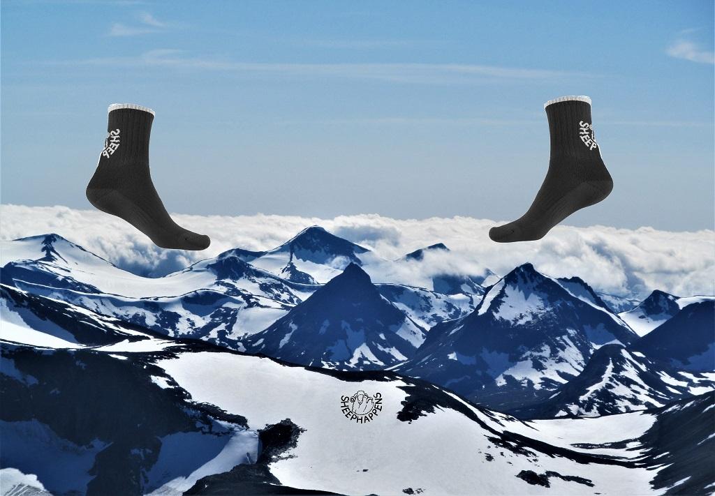 Příběh ponožek Sandstorm Trek