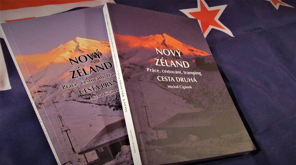 Kniha Nový Zéland