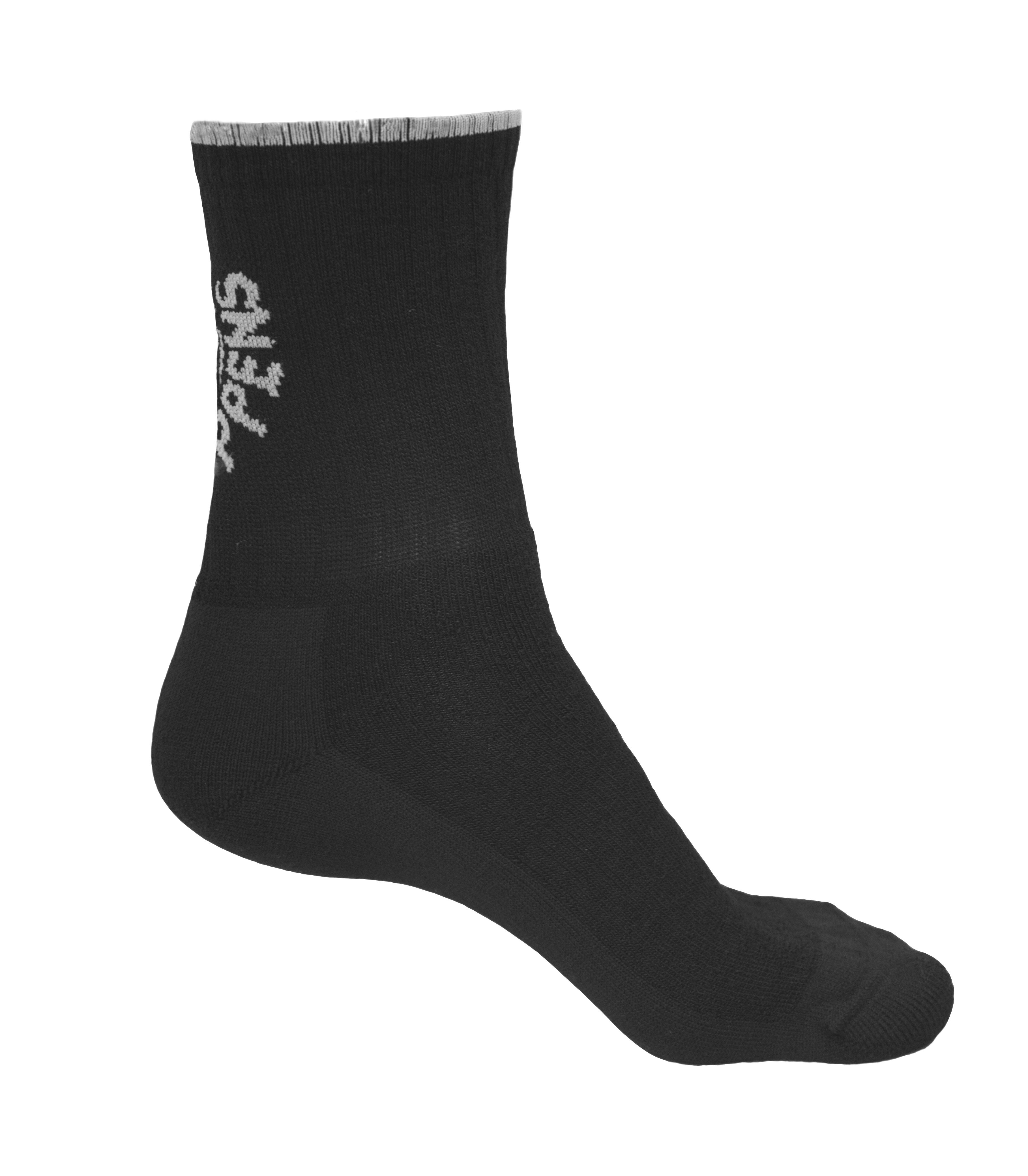 Froté ponožka Waterwalk z merino vlny - nesmeká se a má zpevněný celý spodek až nahoru ke speciálnímu lemu