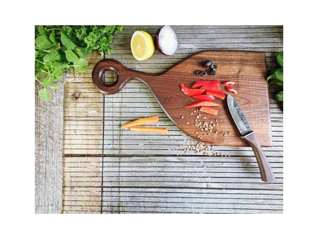 Ořechové kuchyňské prkénko typ A