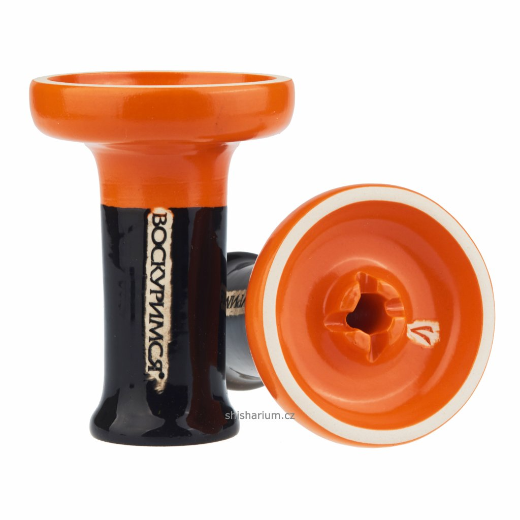 korunka pro vodni dymku voskurimsya nest orange black