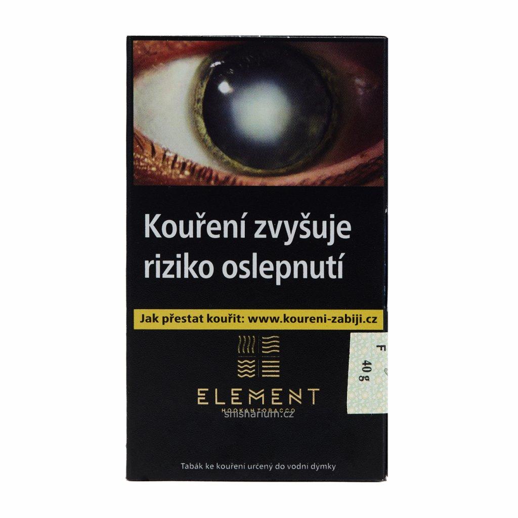 Tabák Element Earth 40g - Irish Kriem