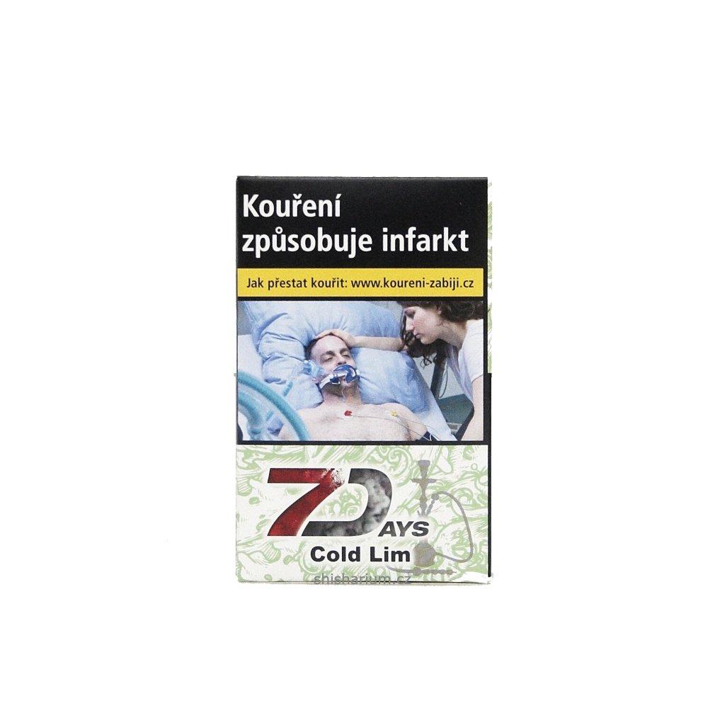 Tabák 7 Days 50g - Cold Lim