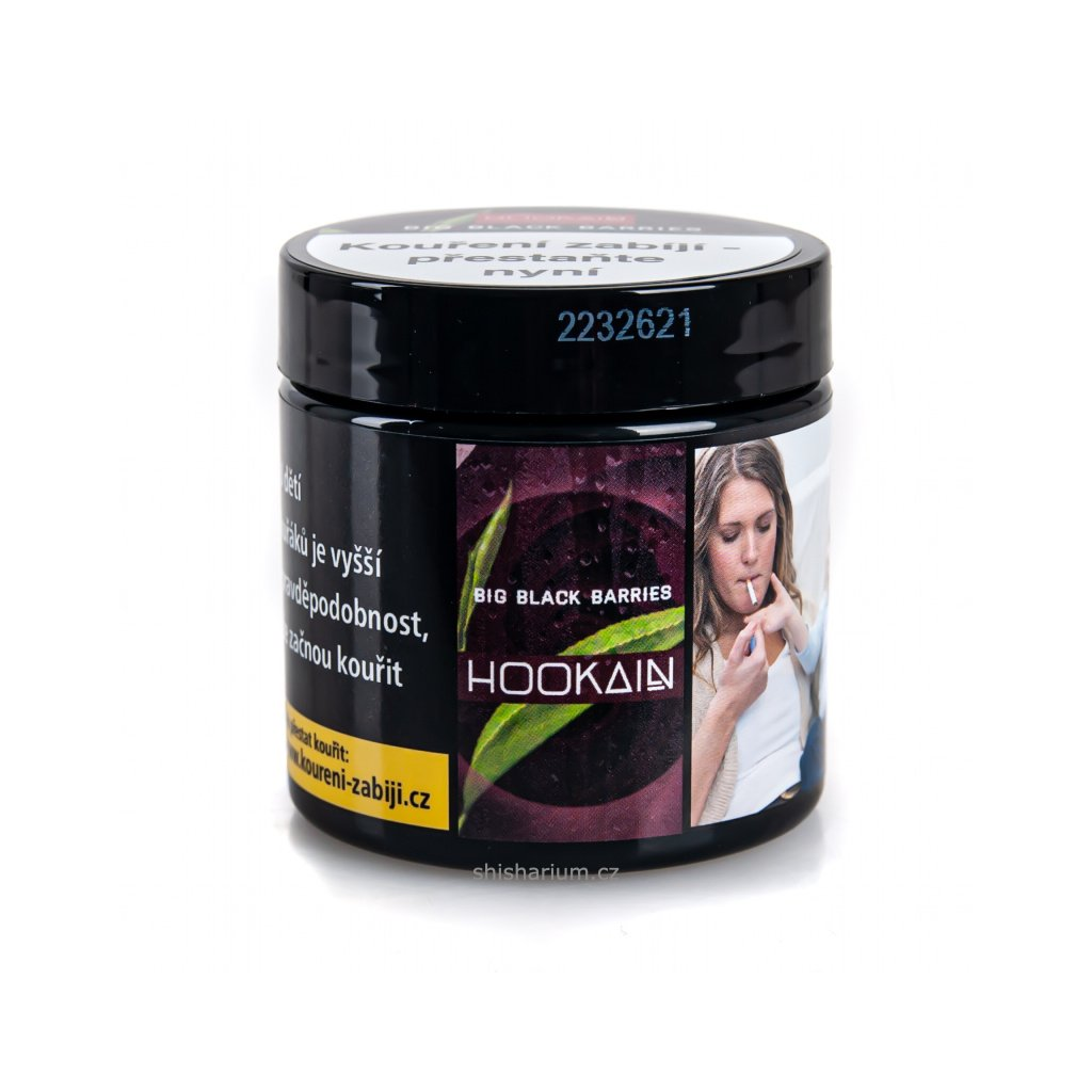 Tabák Hookain 50g - Big Black Barries