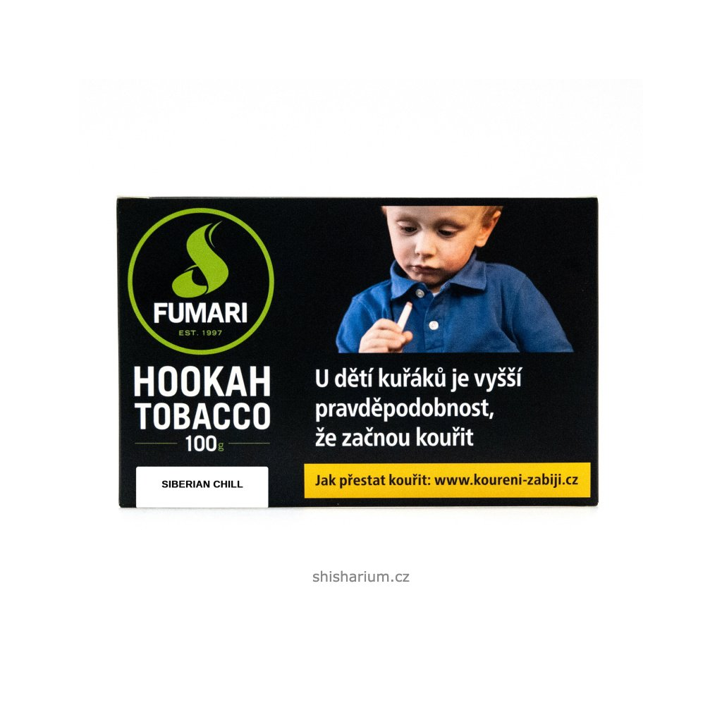 Tabák Fumari 100g - Siberian Chill
