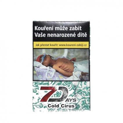 Tabák 7 Days 50g - Cold Cirus