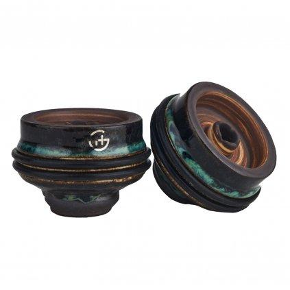 korunka pro vodni dymku geometry phunnel black green