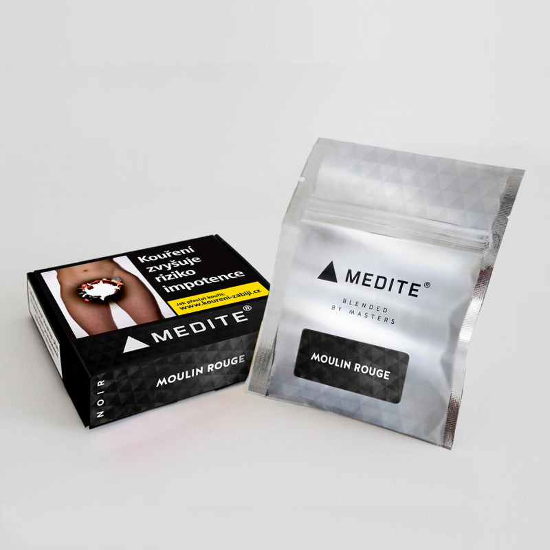 Nové označení mixů Medite tabáků