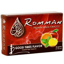 Tabák do vodních dýmek Romman Premium.
