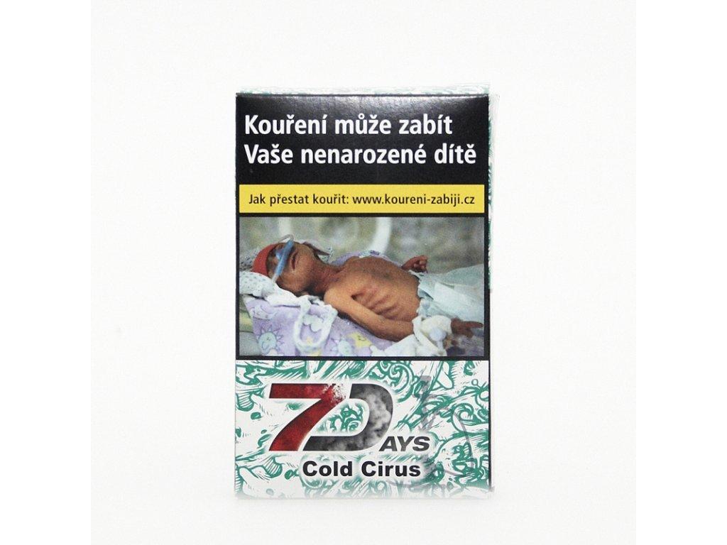 Tabák 7 Days Cold Cirus 50 g