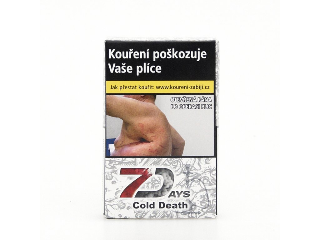 Tabák 7 Days Cold Death 50 g