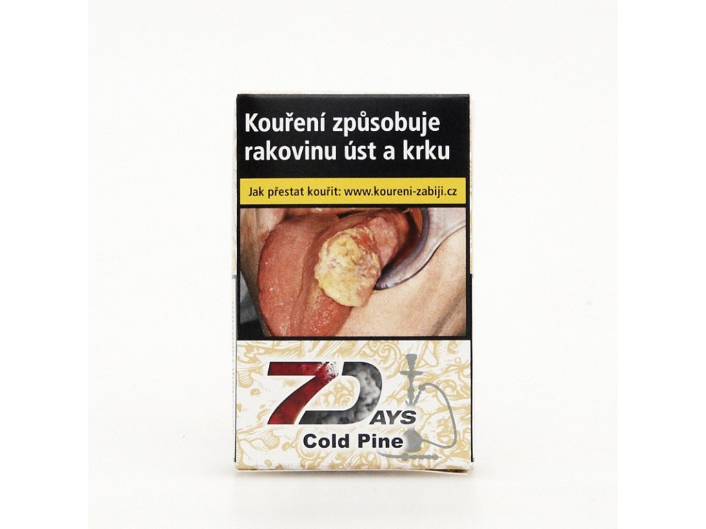 Tabák 7 Days Cold Pine 50 g