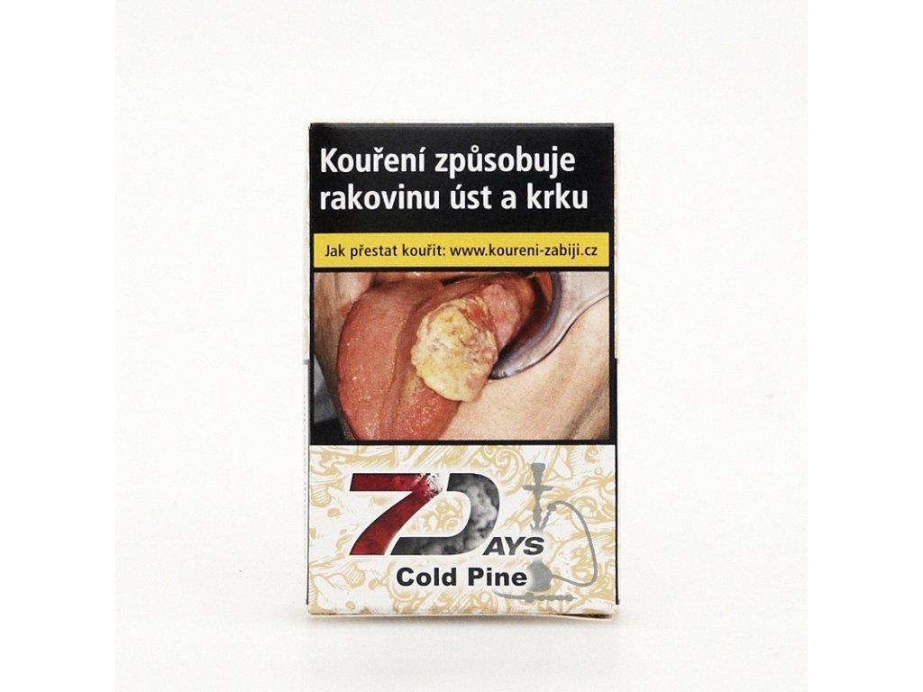 Tabák 7 Days Cold Pine 50 g