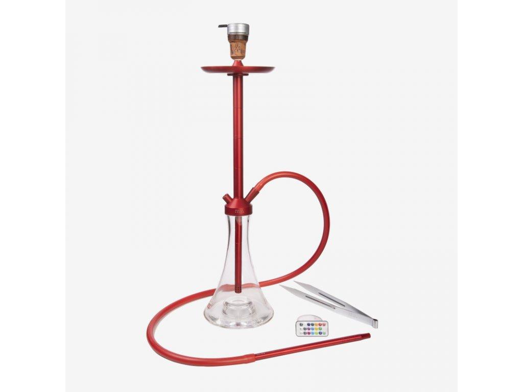Vodní dýmka marvin vol. 2 ALU Red - Full