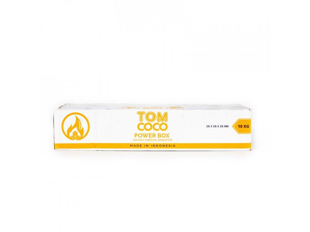 Uhlíky do vodní dýmky Tom Coco 10 kg C26 Gold