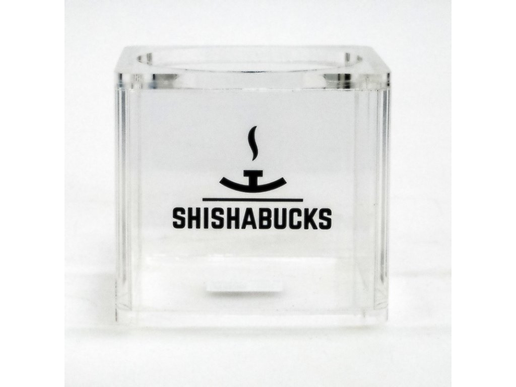 Váza Shishabucks Cloud Mini 12 cm čirá