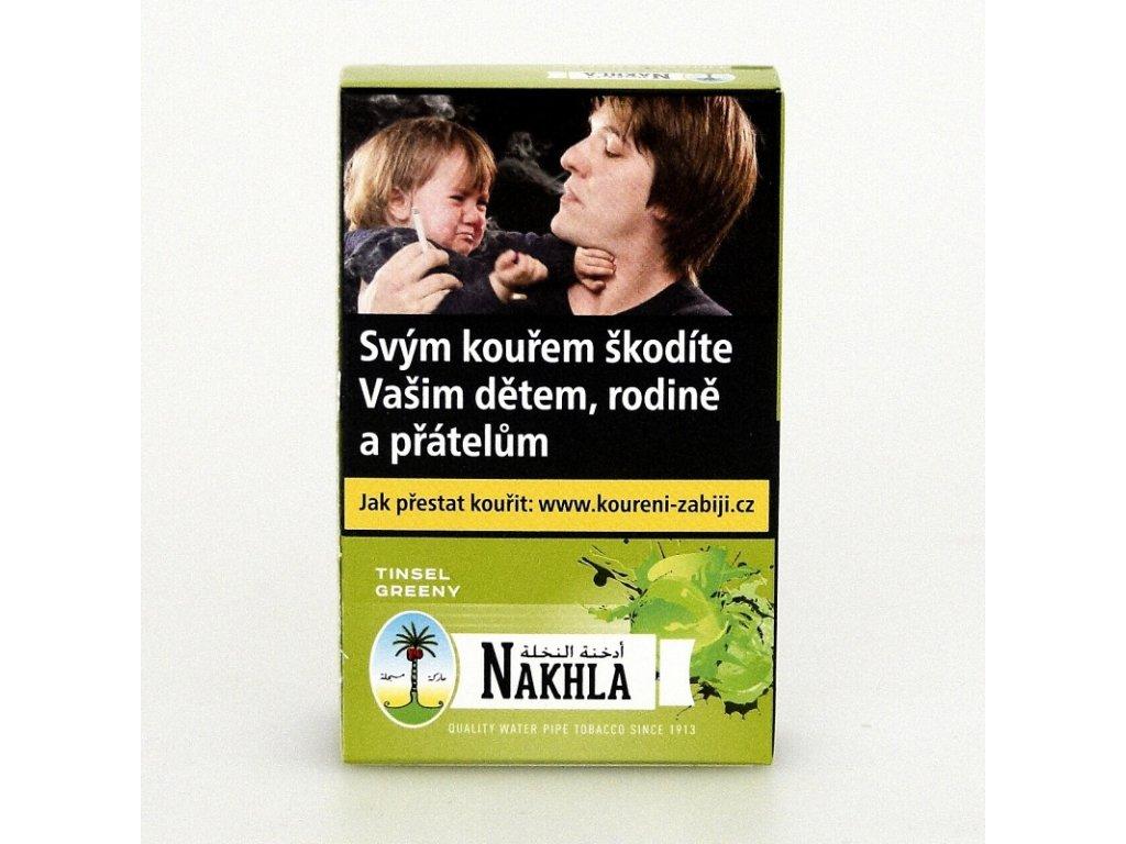 Tabák Nakhla Tinsel Greeny 10 g