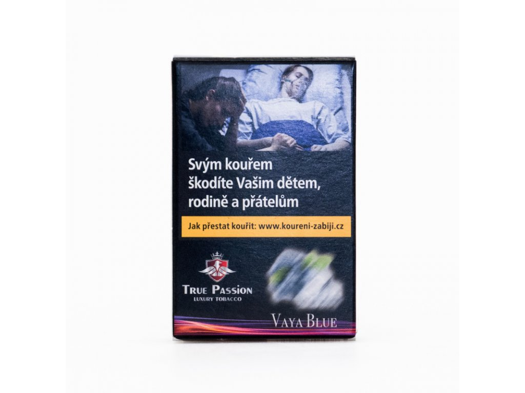 Tabák True Passion Vaya Blue 50 g