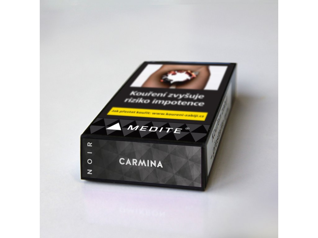 Tabák Medite Noir Carmina 10 g