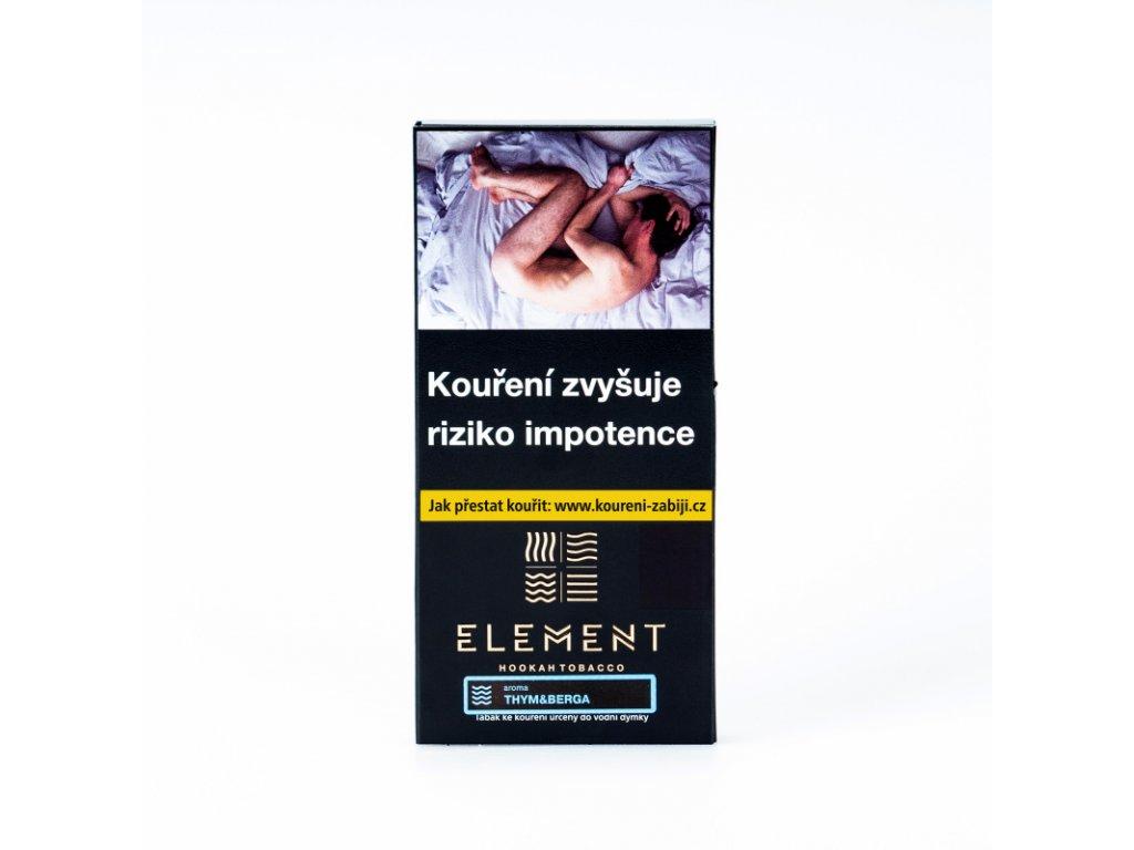 Tabák Element Water Thym&Berga 100 g