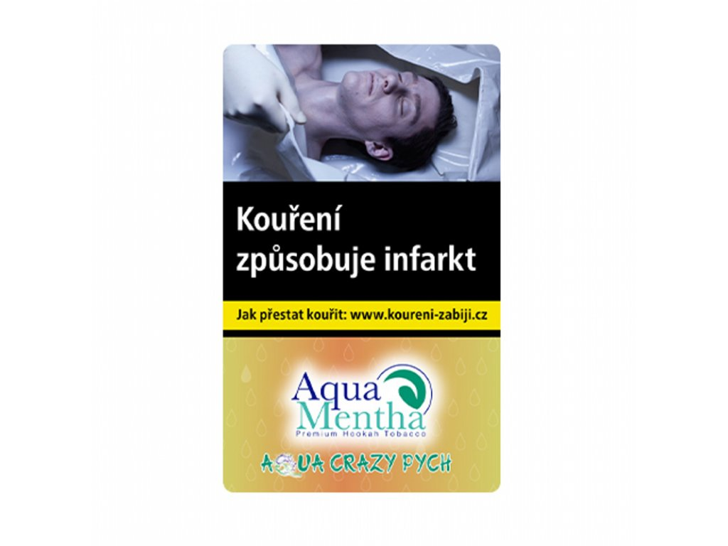 Tabák Aqua Mentha Crazy Pych 50 g