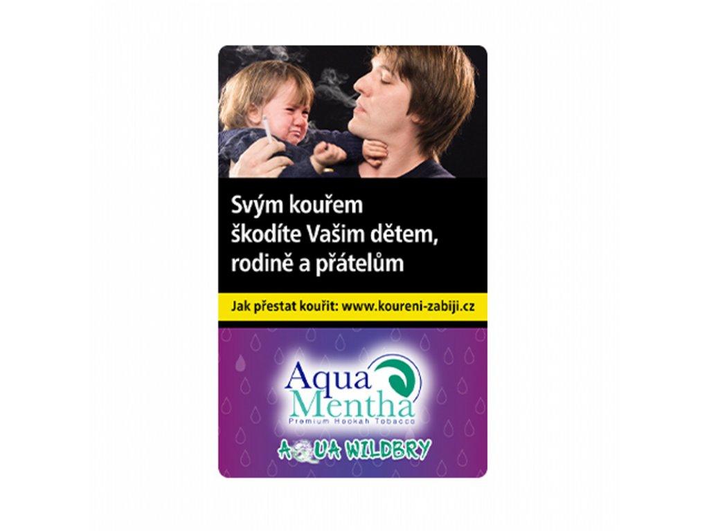 Tabák Aqua Mentha Wild Brry 50 g