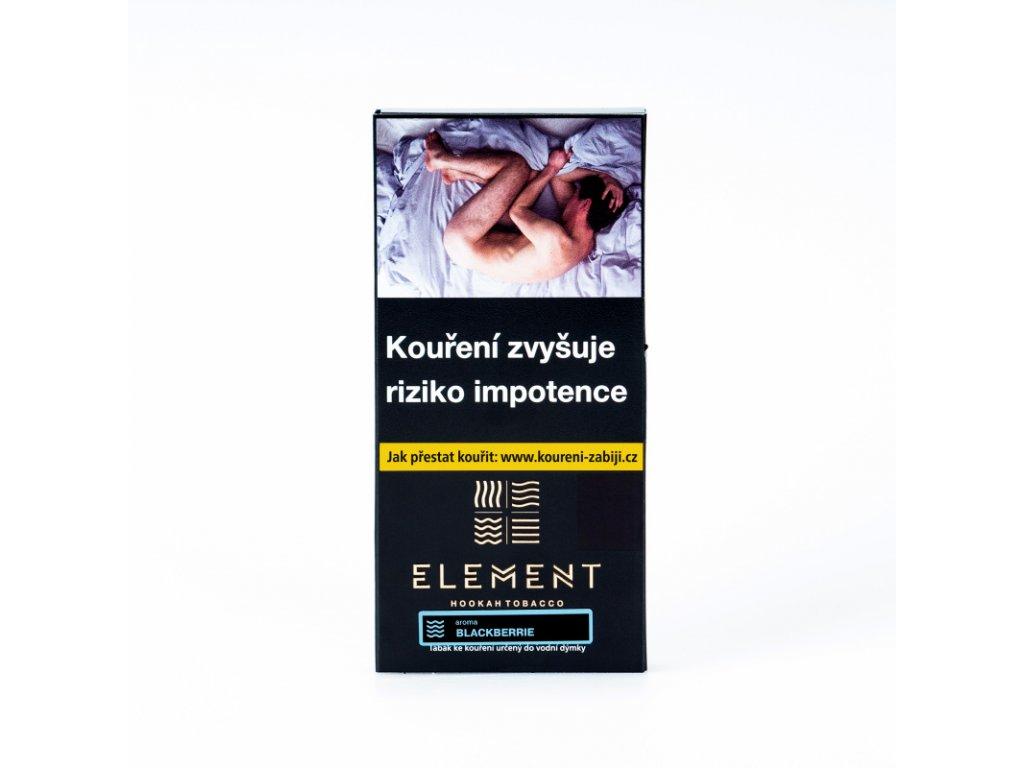 Tabák Element Water Blackberrie 40 g