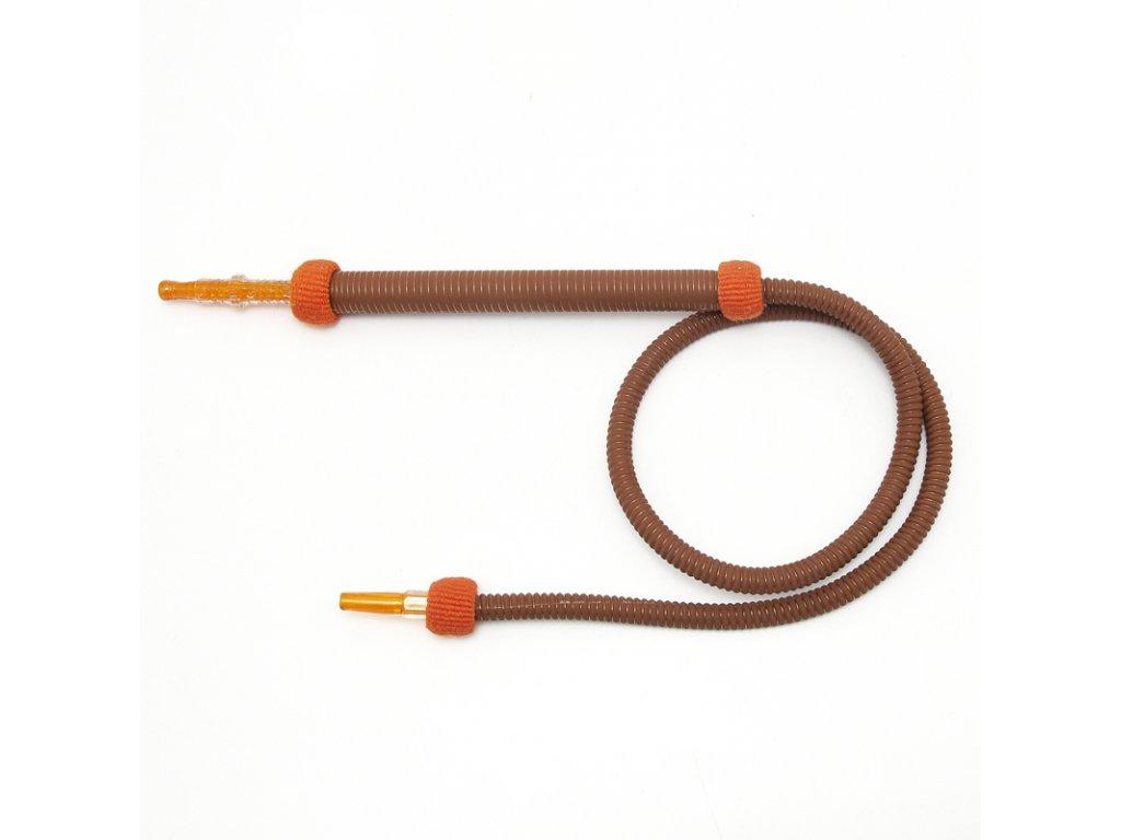 Hadice pro vodní dýmky Top Mark Tauret 170 cm oranžová