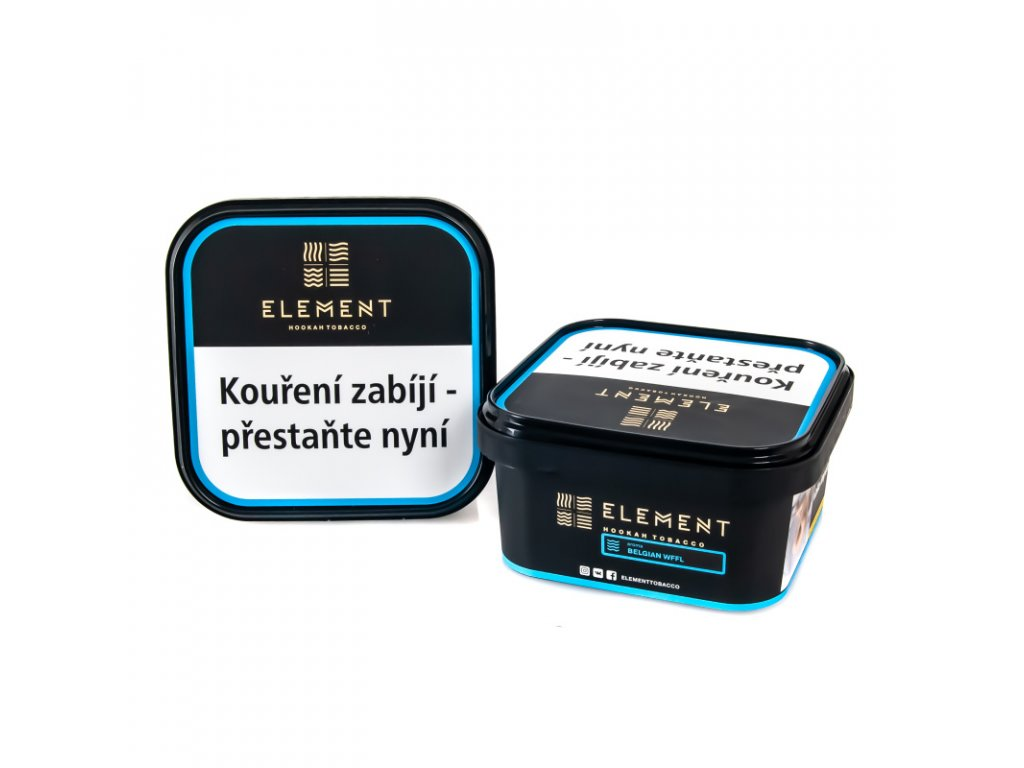 Tabák Element Water Belgian Wffl 200 g