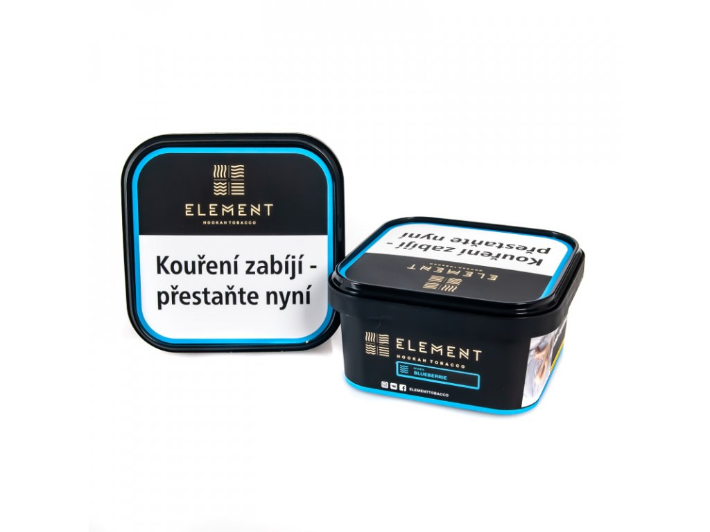 Tabák Element Water Blueberrie 200 g
