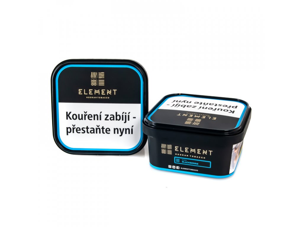 Tabák Element Water Blackberrie 200 g