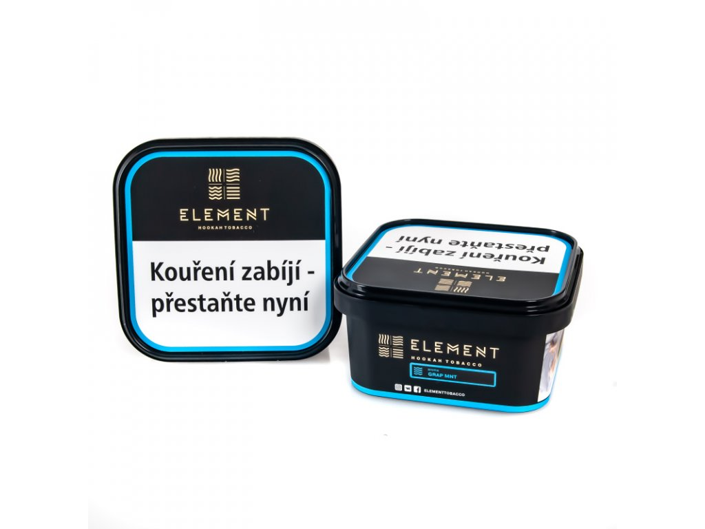 Tabák Element Water Grap Mnt 200 g