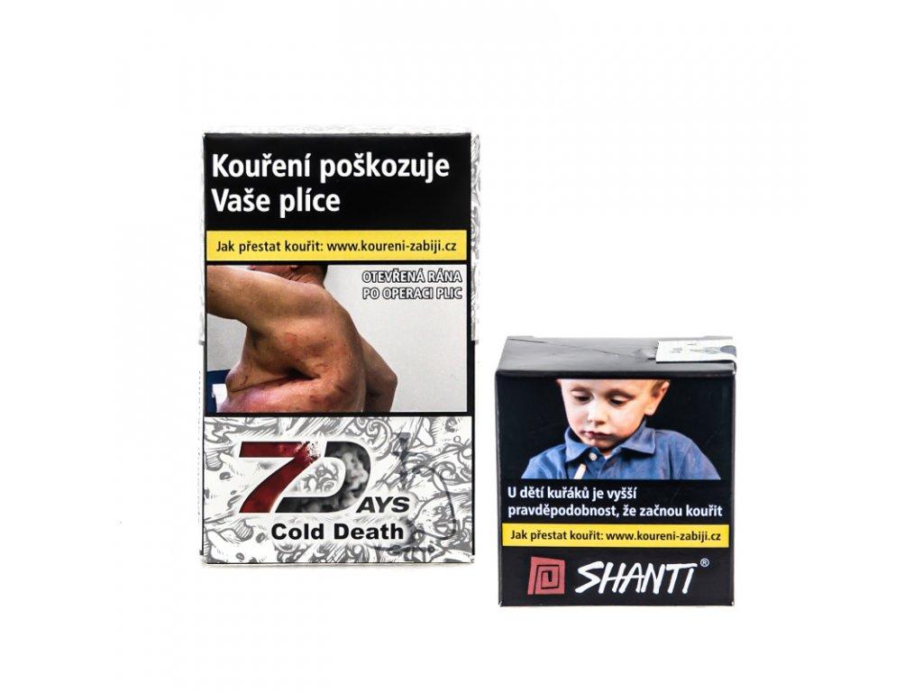 Tabák 7 Days Cold Death 10 g