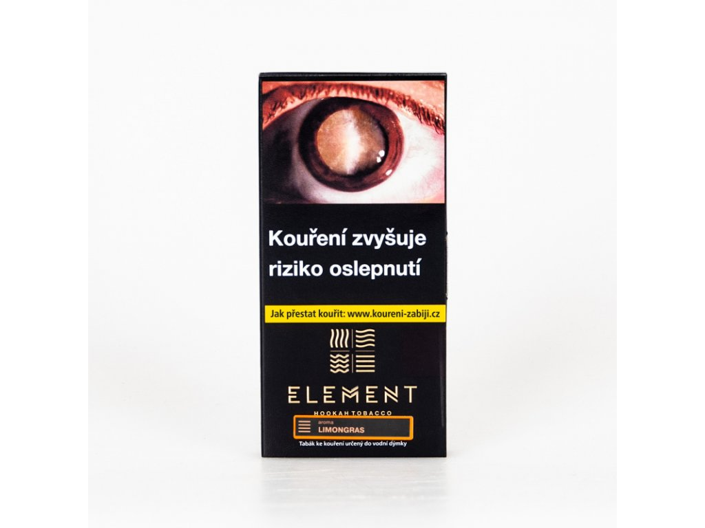 Tabák Element Earth Limongras 15 g