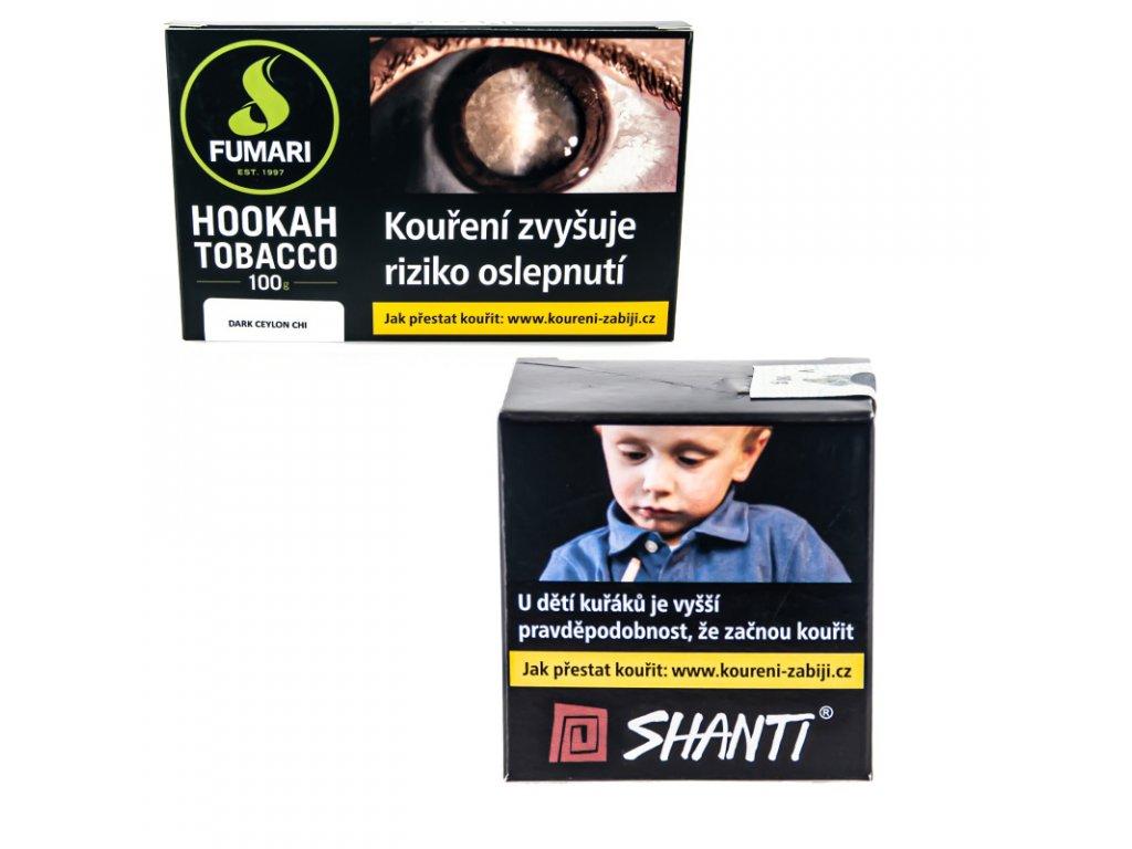 Tabák Fumari Dark Ceylon Chi 15 g